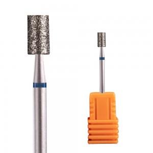 Diamond Straight Barrel Nail Drill Bits