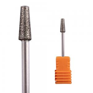 Diamond Cone Flat Top Nail Drill Bit
