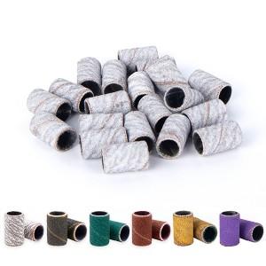 Abrasive White Zebra Sanding Band For Nail