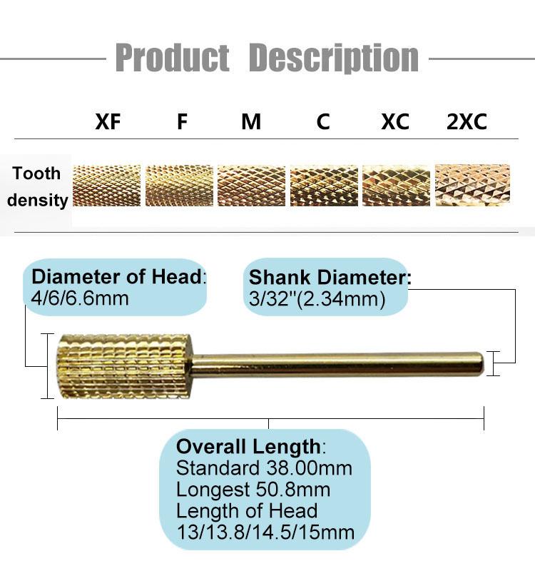 Carbide Nail Drill Bits (3)