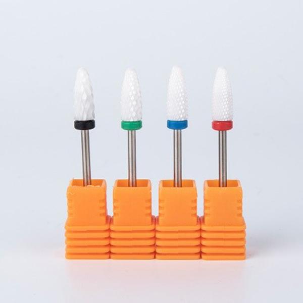 Wholesale Manicure Pedicure Ceramic Nail Drill Bit For Nail Drill (2)